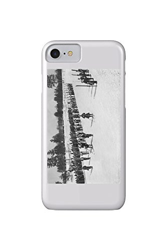 land-o-lakes-wisconsin-skiers-on-parade-near-kings-gateway-hotel-iphone-7-cell-phone-case-slim-barel