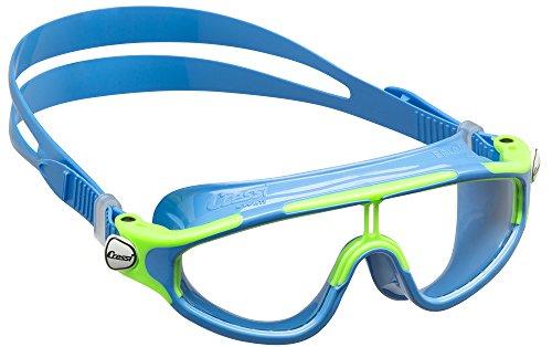 Cressi Premium Schwimmbrille Kinder 2/15 Jahre  Antibeschlag und 100% UV Schutz + Tasche - Hergestellt in Italien