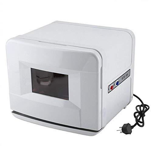 BAI Sterilizer 5L Sterilisator-Wärmeschrank UV und Heizung Gesichtsdesinfektion Salon Handtuchwärmer UV Desinfektionsmittel zum Spa-Massage Tätowieren Nagelkunstwerkzeuge Heimgebrauch