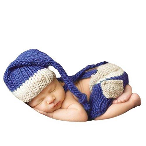 Ateid Neugeborene Fotografie Kostüm Kreativ Baby Fotoshooting Set Cowboy