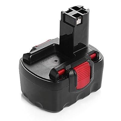 Powerextra Akku 12V 2.0Ah Ersatzakku Werkzeugakku für Bosch 2607335692 2607335262 2607335542 GSB 12VE-2 GSR 12 VE-2 PAG 12v PSB 12VE-2 PSR 12VE-2 + Gratis Geschenk