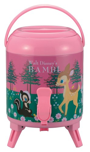 Captain stag (CAPTAIN STAG) water jug 3L Bambi S Pink M-5266 (japan import)