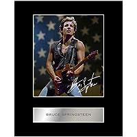 Bruce Springsteen Signiert Foto Display