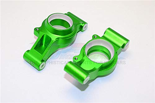 Traxxas X-Maxx 4X4 Tuning Teile Aluminium Rear Knuckle Arms with Collars - 1Pr Set Green