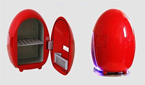 XW Auto Kühlschrank Dual - Nutzung Kühlschrank Auto Kühlschrank Ei - Typ Heißen Und Kalten Auto Kühlschrank 10 L , Red,red