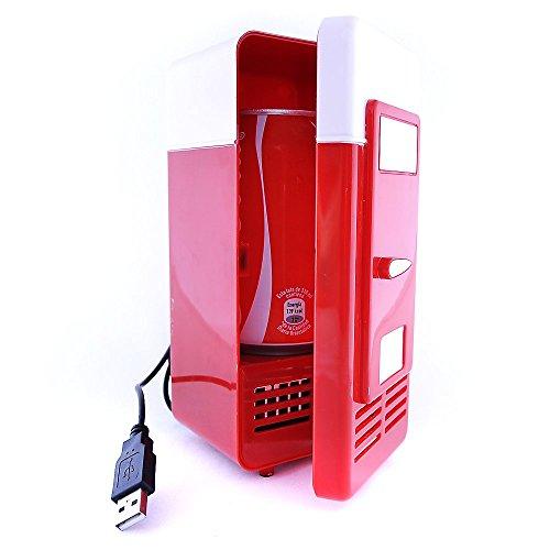 Mini Nevera USB Refrigerador Calentador Pequeño Frigorífico