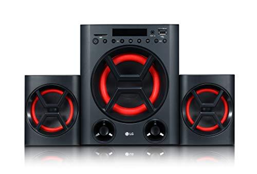 LG LK72B 2.1 Mini-HiFi Anlage XBOOM mit 40 Watt (USB, SD-Speicherkarten-Slot, Bass Blast+) Lg Bluetooth Stereo