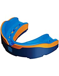 Makura lapillis Max protector bucal, color  - Dark Blue / Orange / Blue, tamaño Adulto