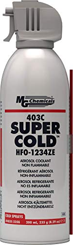MG Chemicals 403C-235G Super Cold Spray, HFO-1234ZE, transparente