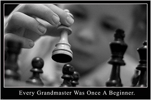 Grandmaster Kid Motivational Poster 24x 36strategische Chess Moves Play (Motivational Poster 24x36)