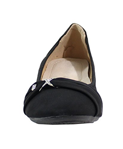 By Shoes, Damen Ballerinas Schwarz