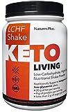 Nature's Plus Keto Living Chocolate Shake 578g Powder. Low Carb High Fat Shake