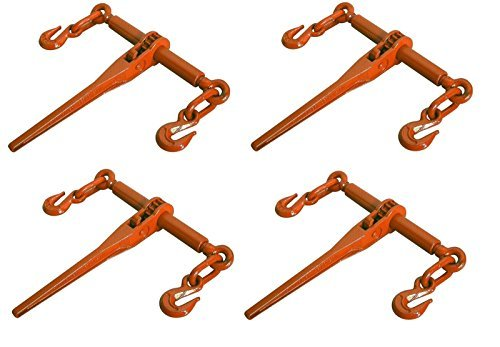ghp-pack-of-4-chain-ratcheting-5-16-3-8-load-binder-boomer-tie-down-rigging-by-globe-house-product