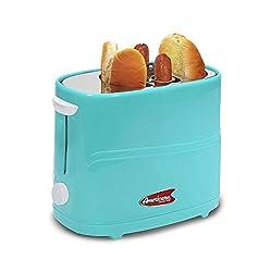 Elite Cuisine ECT-304BL MaxiMatic Hot Dog Toaster