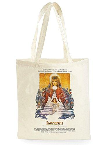 Uk Print King Labyrinth David Bowie Poster, Einkaufstasche fürs Einkaufen, Picknick, Zuhause, Lagerung und Schule, tote bag