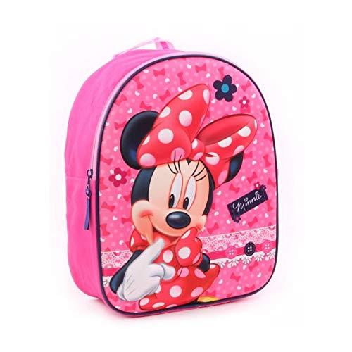 Minnie - ZAINO ASILO 3D ROSA