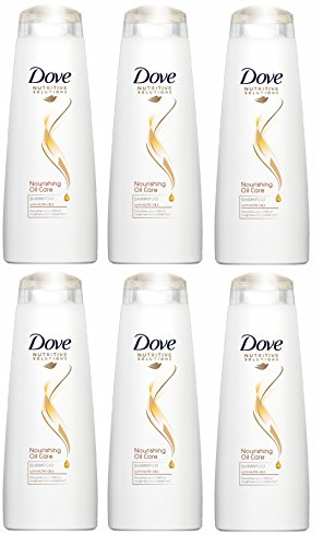 Dove Hair Therapy Pflegende Oil Care Shampoo 250 ml (6 Stück)