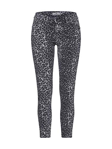 LTB Jeans Damen LONIA Skinny Jeans, Grau (Grey Leopard X Wash 51973), W29/L28 (Herstellergröße: 29) -