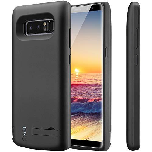 PEYOU Akku Hülle Kompatibel mit Galaxy Note 8,6500mAh Wiederaufladbare Erweiterte Backup-Batterie Pack Externes Ladergerät Schutz-Ladegerät Hülle Kompatibel mit Samsung Galaxy Note 8 6.3