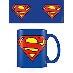 DC Originals Taza Superman Logo, Blue, 320ml