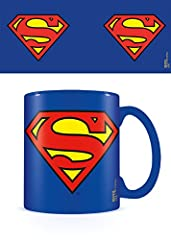Idea Regalo - DC Comics Tazza dc Originals (Superman Logo), Ceramica, Multicolore, Unica