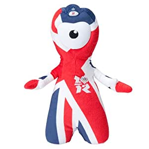 Olympic Mascots 25cm Union Jack Wenlock