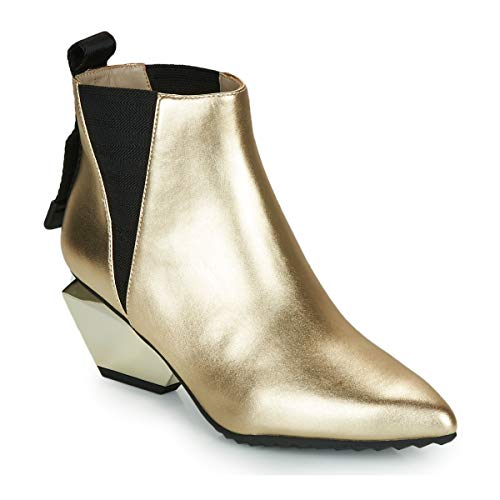 United Nude Jacky TEK Bootie MID Ankle Boots/Boots Women Gold Ankle Boots