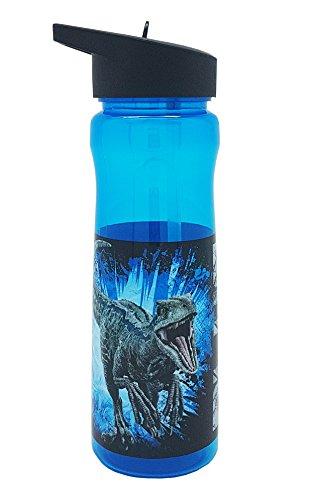Universal Jurassic World 2600ml Bottiglia in PP, Multicolore, 6.6x 6.6x 23cm
