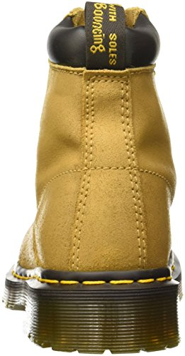 Dr.Martens Womens 939 6 Eyelet Soft Buck Nubuck Boots Tan En Venta WuBog