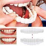Zähne Prothese Zähne Kosmetik 1 Paar Temporär Lächeln Komfort Fit