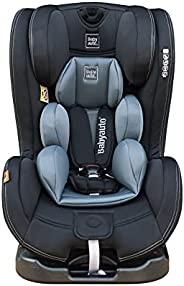 Babyauto Taiyang reclining Baby Car Seat, From Birth to 12 Years, From 0-36 Kg,Group 0+123- Black with Grey In