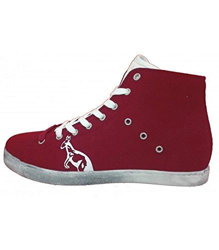 Australian - Australian Infinity Sneakers Uomo Alta Rosso - AU345 - 45, Rosso