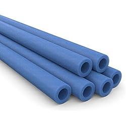 Ampel 24 - Lot de 6 mousses de Protection pour piquets de Trampolines / 2 mousses nécessaires par piquets/Bleu