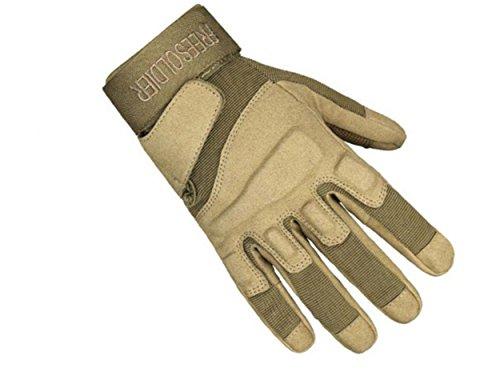 WLITTLE Herren Handschuhe Winddicht Outdoor Laufhandschuhe Radfahren Jagd Sports Handschuhe Fahrradhandschuhe ,Perfekt für Herbst,Frühling,Frühwinter