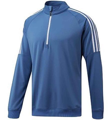 adidas Herren Golf Quarter-Zip Sweater, Herren XS blau -
