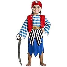 Disfraz de Pirata Niña (3-4 años)