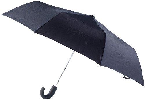 Preisvergleich Produktbild Carlo Milano Regenschirm mit gummiertem Griff, 94 cm Spannweite