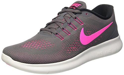 Nike Damen Free Rn Laufschuhe, Grau