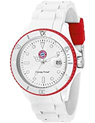 MADISON NEW YORK Unisex-Armbanduhr Candy Time for FC Bayern München Analog Quarz Silikon U4524-53/1