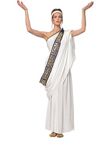 tüm Griechin Römerin Sparta Kostüm Göttinkostüm Antikes Damenkostüm (Halloween-kostüm Römische Kaiserin)