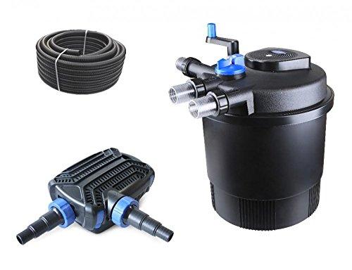 bio-set-filtro-per-laghetto-cpf-20000-pressione-con-tubo-pompa-per-laghetto-per-laghetti-e-uvc-chiar