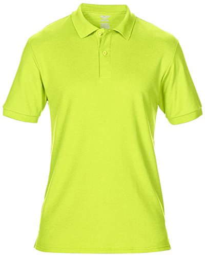 Herren Dryblend Doppel Pique Poloshirt von Continental Clothing - 13 Farben verf Safety Orange