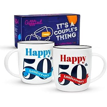 Gifffted Tasses 50 Ans Anniversaire Mug Original Idée