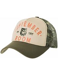 WITHMOONS Gorras de béisbol Gorra de Trucker Sombrero de Meshed Baseball  Cap Vintage Trucker Hat Bulldog c357f4741e6
