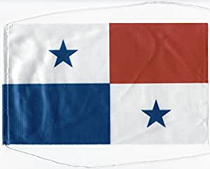 Tischflagge Tischfahne Panama, ca. 5 x 8 cm