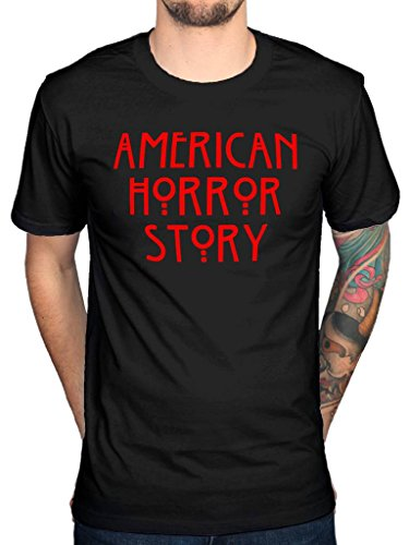 Official American Horror Story Red Logo T-Shirt