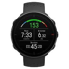 Polar Unisex Adult Vantage M Multisport Watch - Black, M/L