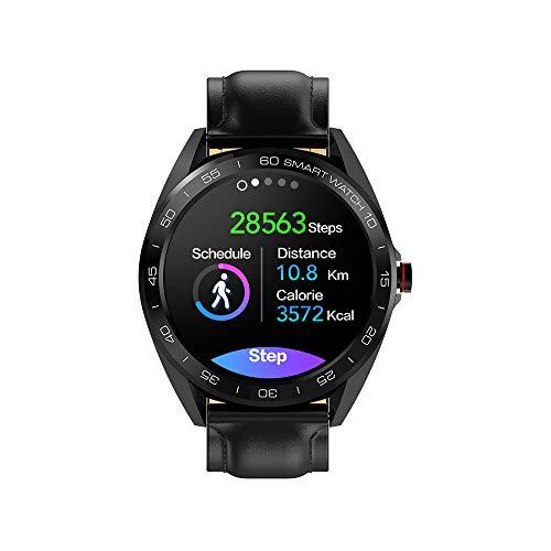 Lepeuxi SENBONO K7 Smart Watch Display IPS 1,30' IP68 Impermeabile BT4.0 Timer Fitness Pedometro Distanza Calorie Frequenza...