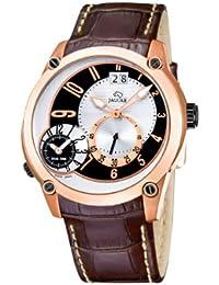 Jaguar 631/1 - Reloj de caballero de cuarzo, correa de piel color marrón