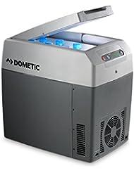 Dometic TROPICOOL TC 21  -  Thermo-Elektrische Kühlbox mit 12/24 und 230 Volt Anschluss zum Anschluss im  Zigarettenanzünder für PKW / LKW und für die Steckdose, Kühlen und Heiz-Funktion, tragbarer Mini-Kühlschrank, Fassungsvermögen 20 Liter, A++